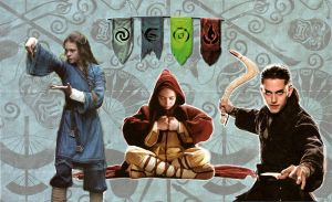 Airbender Nations and Friends by Jeffrey-Scott