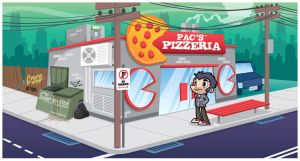 Pacs Pizzeria by cronobreaker