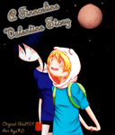 Comm. Comic - COVER - A Finnceline Valentine Story by hiyoK0