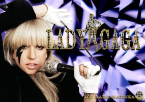 LADY GAGA WALLPAPER by Dark-Madoka