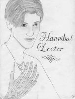 Hannibal Lecter second try by AshNight1214
