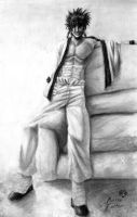Sanosuke Hits the Couch by Adyon