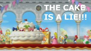 The Cake Is A Lie by Masterluigi452