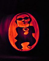 Gangnam Style Pumpkin by cake4thought