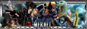X-Men - Mernet by messinmotion