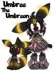 Umbree The Umbreon by Xbox-DS-Gameboy
