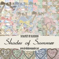 Shades of Summer Taggers Kit by Bluebirdofhappiness