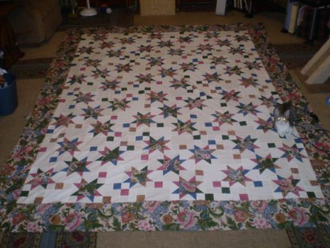 Star Mystery Quilt by Mythtail