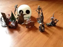 Disney collection the Nightmare Before Christmas by Jazzlednightmare16