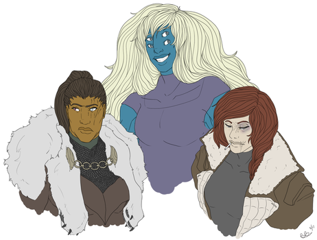 Giant Buff Women ~ by PassivelyPlastered