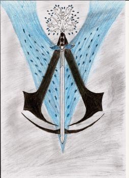 RWBY/Assassin's Creed OC Emblem for Spideyk. by SlimPickensUK