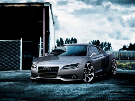 Audi R8 2013 by blackdoggdesign