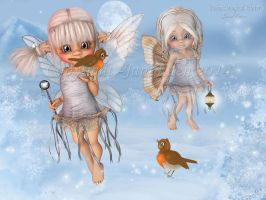 Robins-Magical-Winter by JaneEden