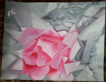 Cubism Rose by kronakitty