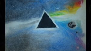 Pink Floyd Oil Painting by Release-is-Power