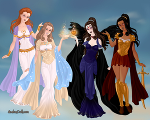 GoddessMaker: Daughters Of Hera
