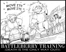 Training with Ms. Battleberry by ShoNuff44