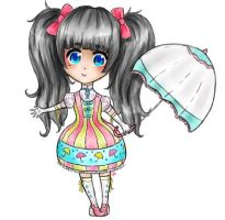 Lolita girl auction closed by LilisAdoptables