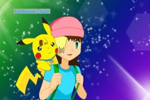 Me and My Pikachu Together by Emikodo