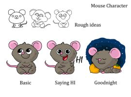 mouse character by ishaansharma456