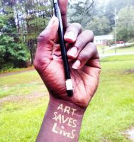 Art saves lives by jaquang99