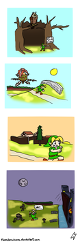 LoZ OoT Comic 9 by ThunderManEXE