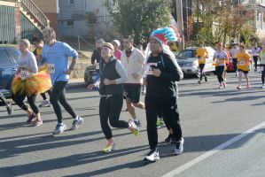2015 Gobble Turkey Run, the Native and Tutu Runner by Miss-Tbones