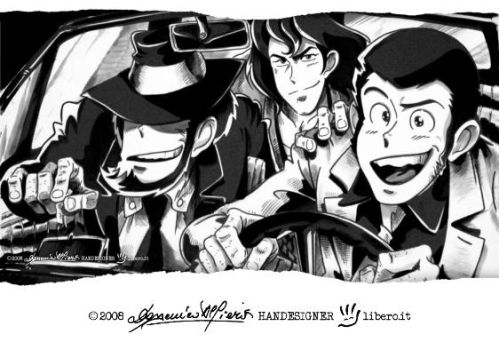 LUPIN III '3 in 500' by handesigner