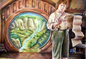 The Hobbit by Alena-Koshkar