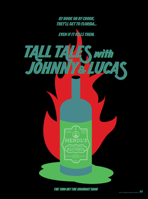 Tall Tales with Johnny and Lucas Poster 5 by Jarvisrama99