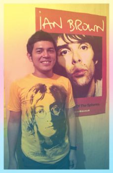 me, lennon and brown... by superhore
