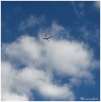 Plane In The Sky by missionverdana
