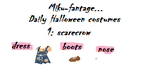 Halloween Daily Costumes~Day 1~Scarecrow by Miku-Fantage