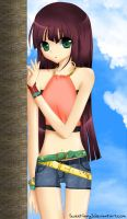 Sunny Day - Hitomi by sweetiiang3l