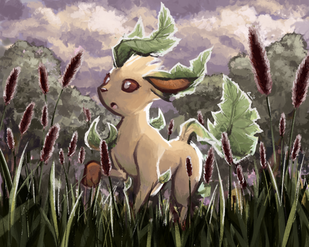 Leafeon by Osmenn