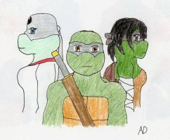 TMNT_Shades of Gray by DNLnamek01