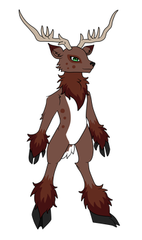 [OPEN] Anthro deer adopt by Lamonara