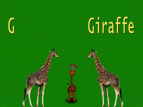 G is for Giraffe by LoloAlien