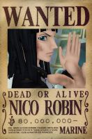 Wanted dead or alive Nico Robin [MMD] by stopmotionOSkun