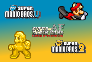 Two New Powerups from Two New Mario Games by TuffTony