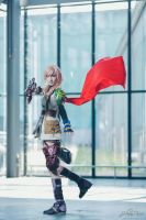 Lightning_FINAL FANTASY XIII by AMPLE-COSPLAY