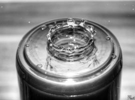 Highspeed Water Photography BW [3] by PPFotografie