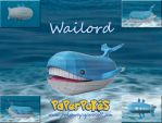 Wailord Papercraft by Olber-Correa