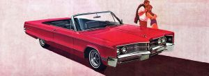 After the age of chrome and fins: 1967 Chrysler by Peterhoff3