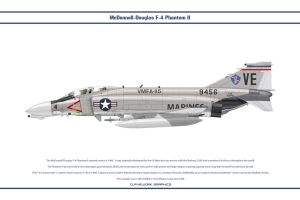 F-4B USA VMFA-115 1 by WS-Clave