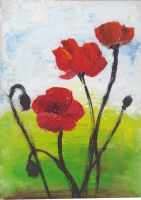 Poppies by cheeseofliberty