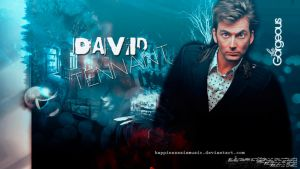 DAvid Tennant wallpaper 03 by HappinessIsMusic