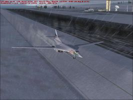Taxiing to Runway 19 by Weasel102