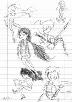 marcy doodles by mobul