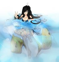 Swimming with the fishes by Girutea